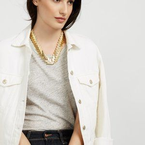 Baublebar Poisson Collar Gold Necklace